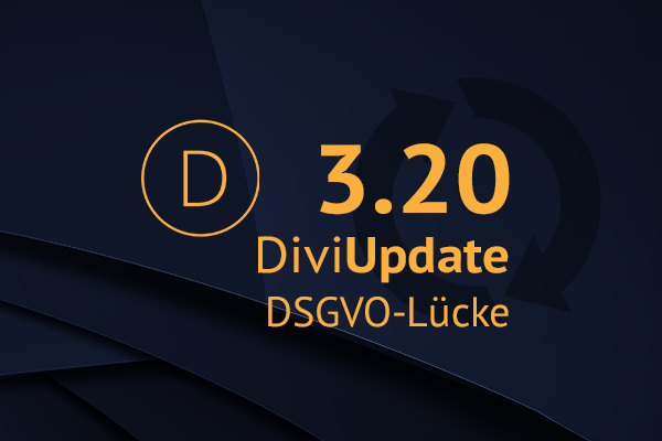 DSGVO Lücke im Update 3.20