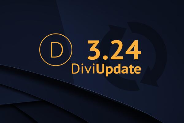Divi Theme Update 3.24