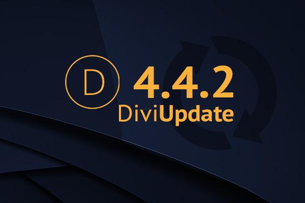 Divi Update 4.4.2