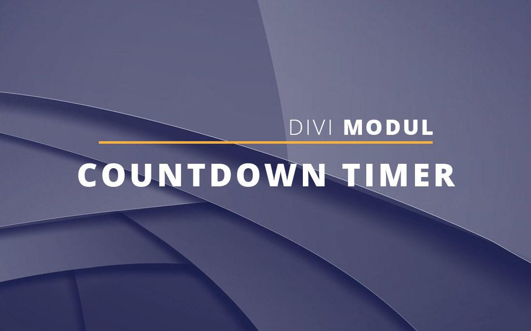 Führende Nullen im Countdown-Timer-Modul entfernen
