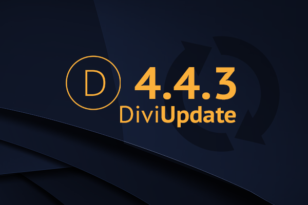 Divi Update 4.4.3
