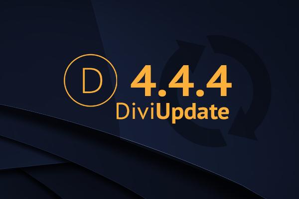 Divi Update 4.4.4