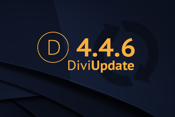 Divi Update 4.4.6