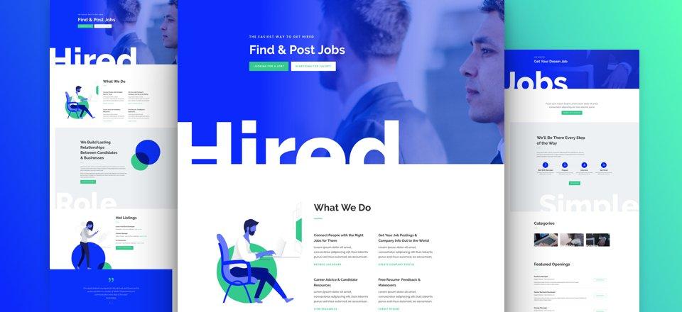 divi-arbeitsvermittlung-kostenloses-layout-pack