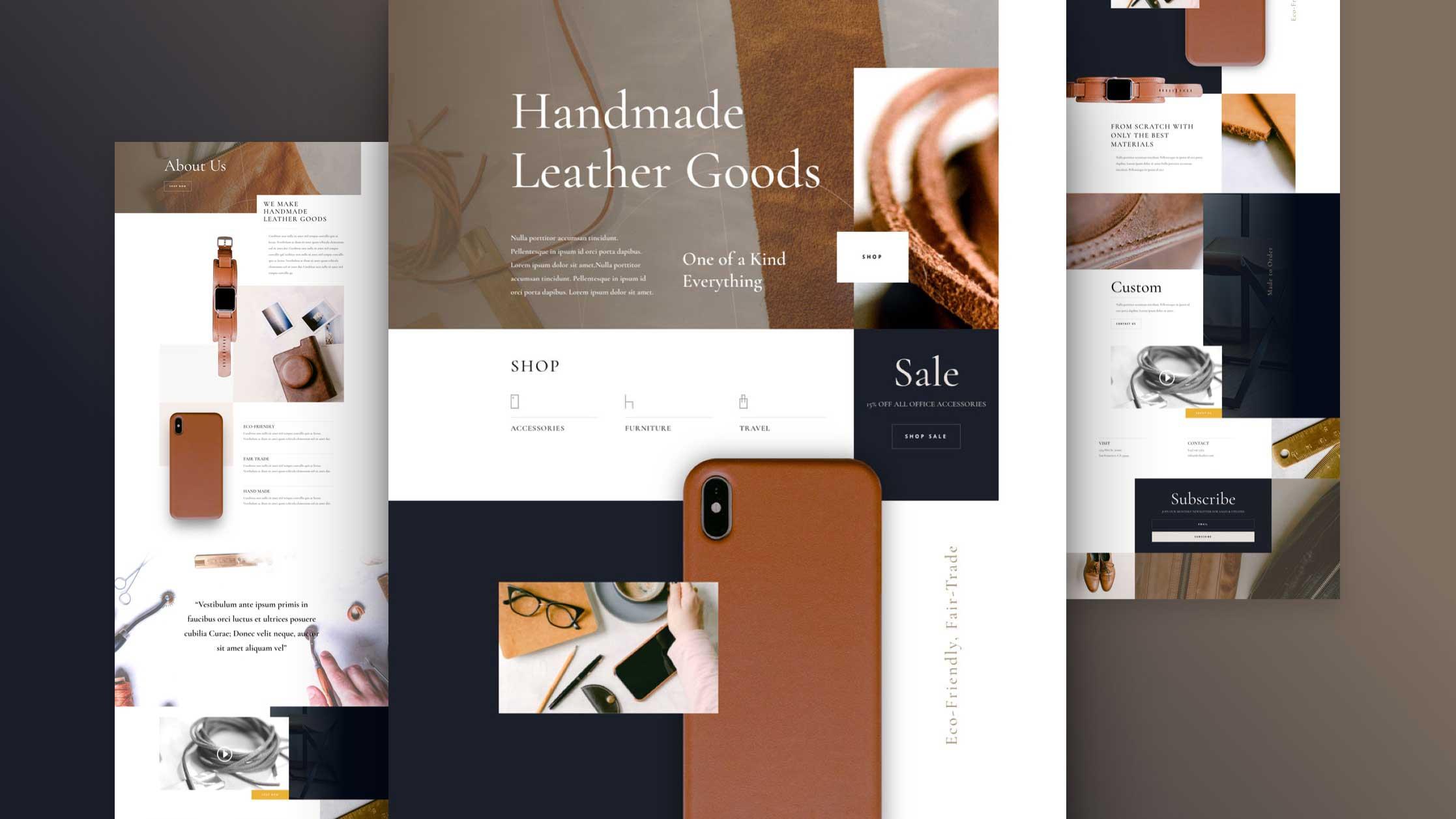 divi-lederwaren-kostenloses-layout-pack