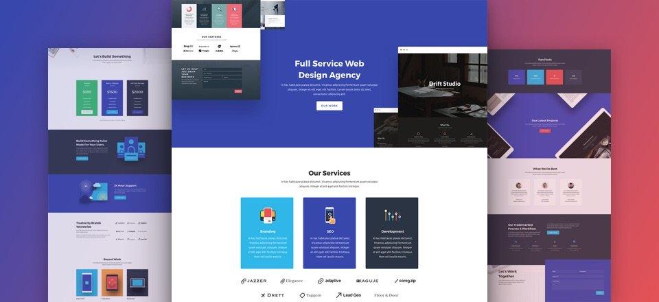 divi-web-agentur-kostenloses-layout-pack