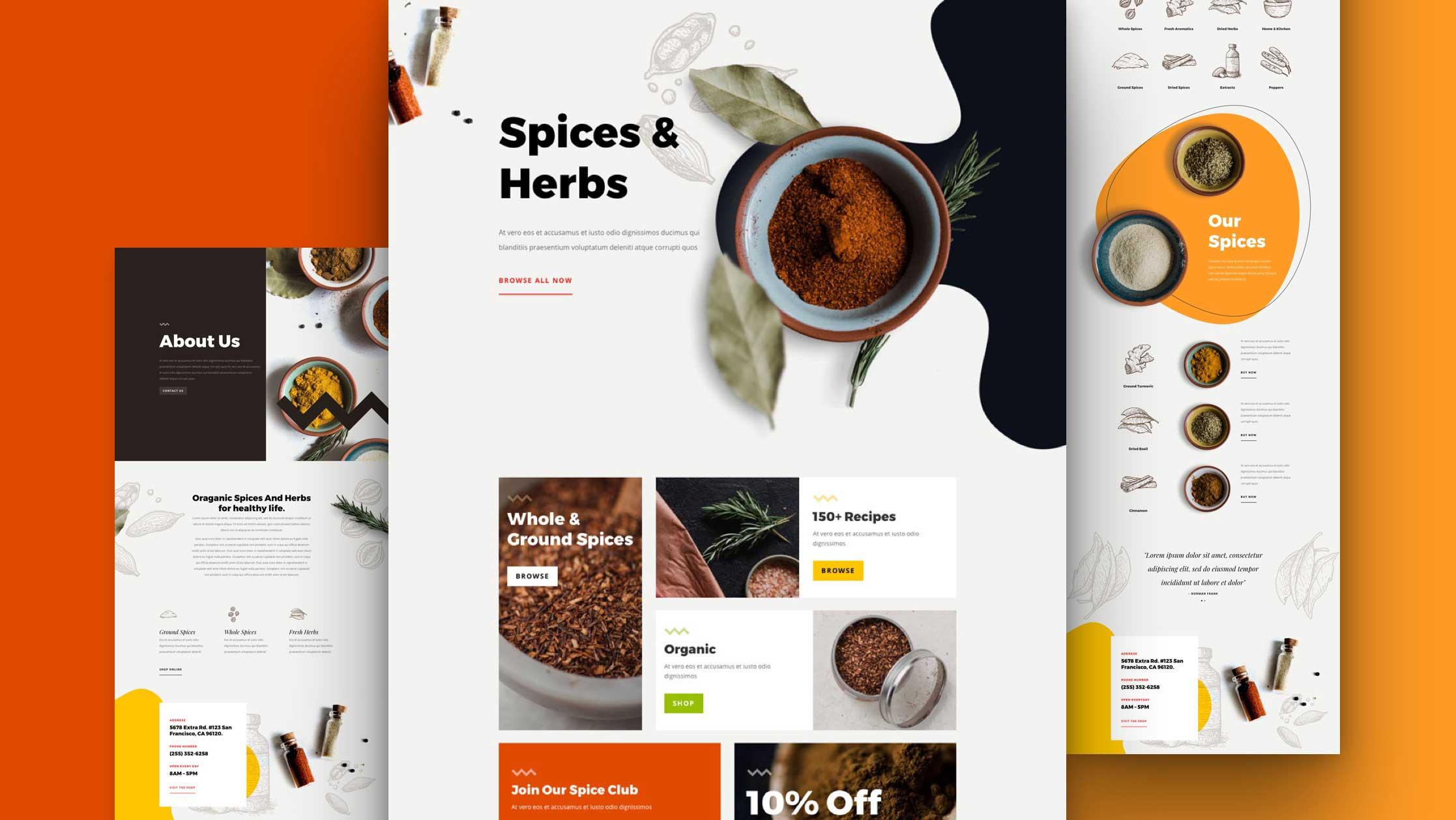 divi-gewuerzladen-kostenloses-layout-pack