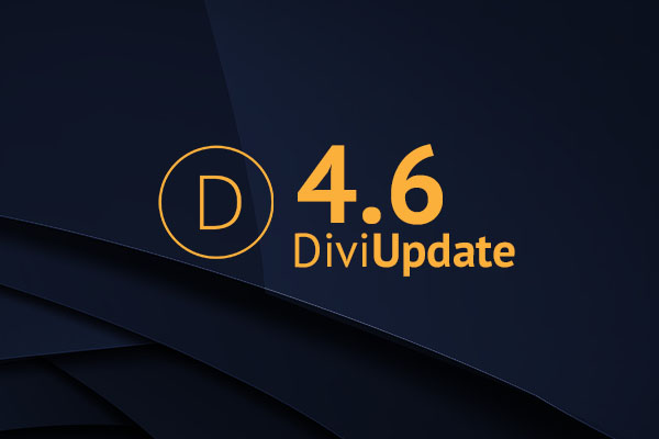 Divi Theme Update 4.6
