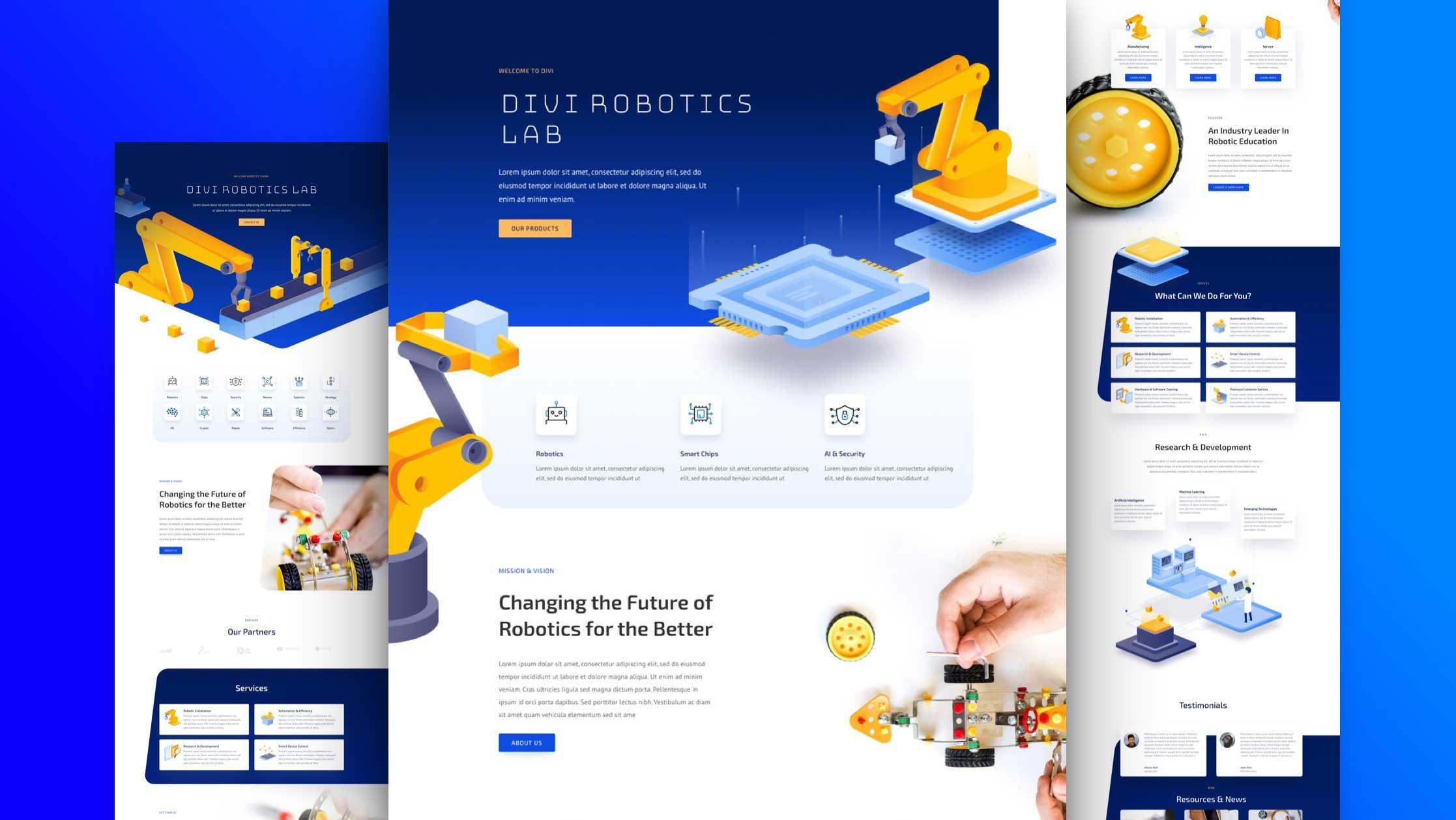 divi-robotik-kostenloses-layout-pack robotertechnik