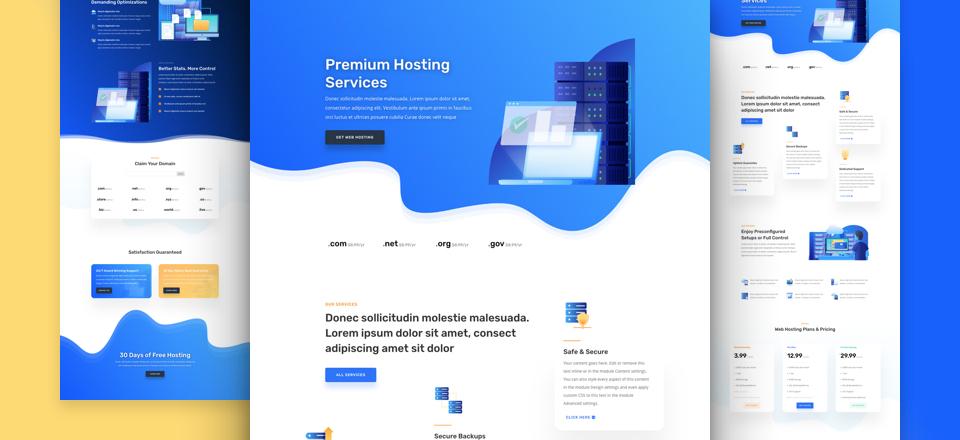 divi-webhosting-kostenloses-layout-pack