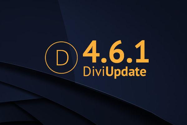 Divi Theme Update 4.6.1
