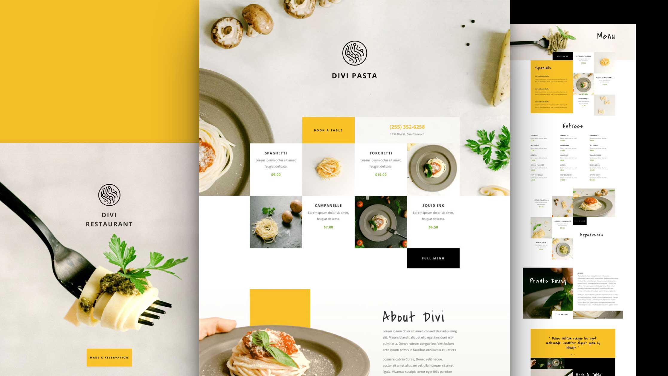 italienisches-restaurant-divi-kostenloses-layout-pack