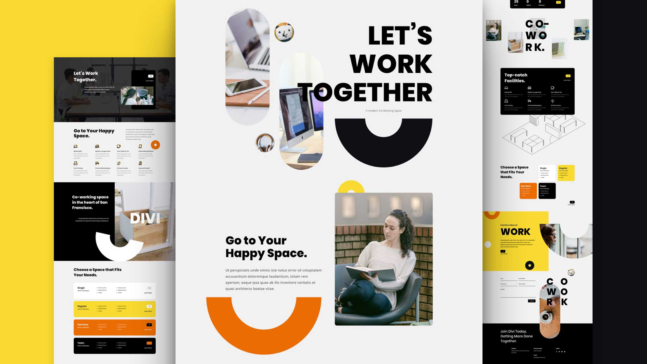 coworking-space-divi-kostenloses-layout-pack