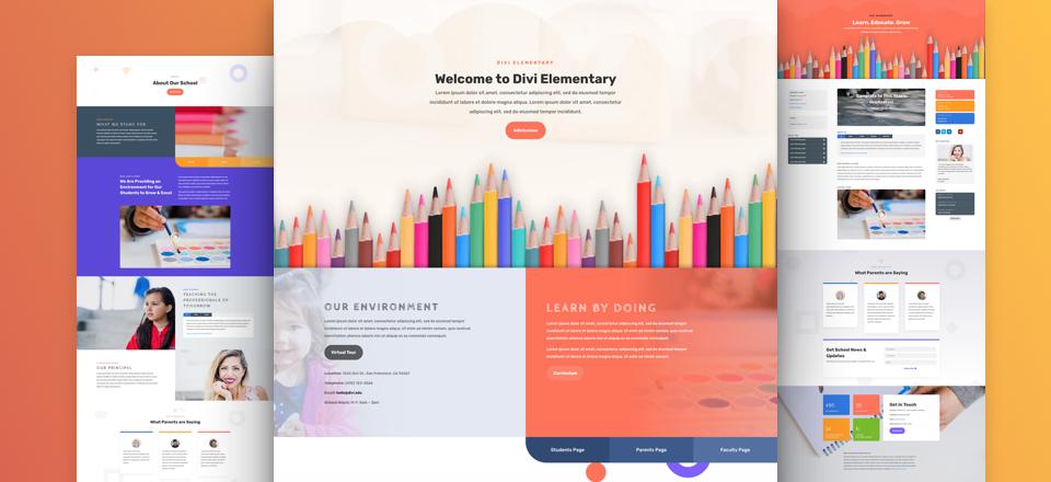 grundschulen-divi-kostenloses-layout-pack