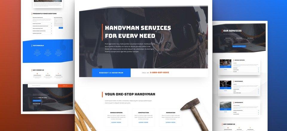 handwerker-divi-kostenloses-layout-pack