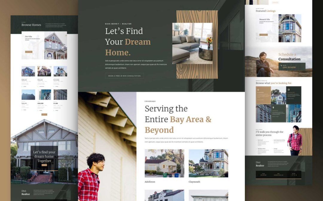 Kostenloses Layout Pack für Immobilienmakler/innen