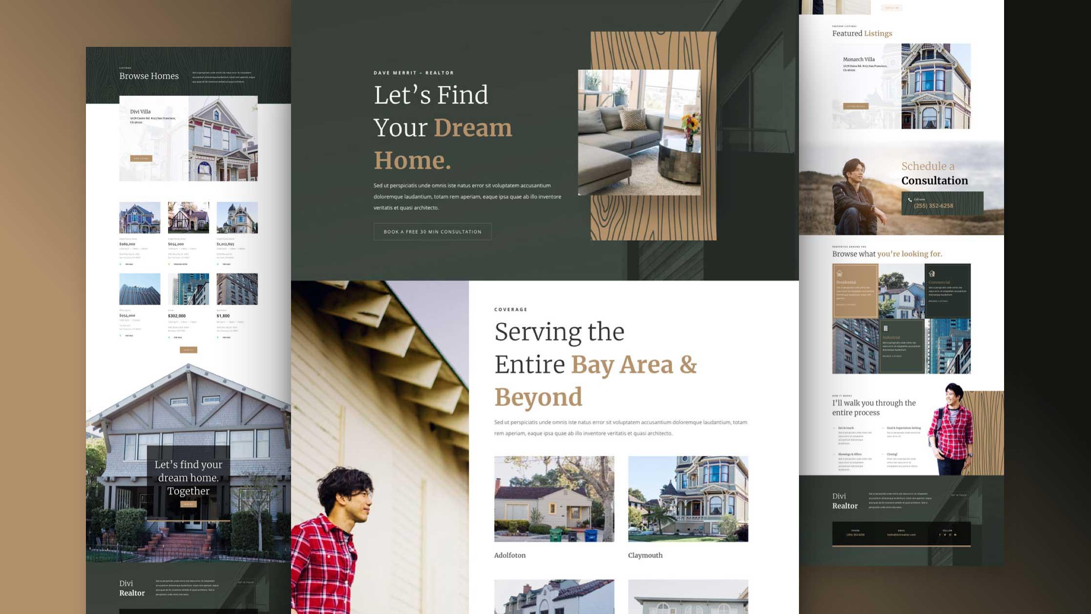 immobilienmakler-divi-kostenloses-layout-pack
