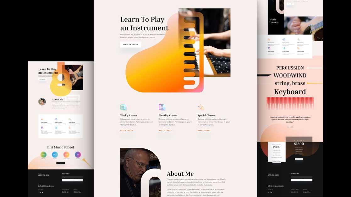 musiklehrerinnen-divi-kostenloses-layout-pack