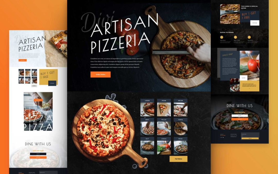 Kostenloses Pizzeria Layout Pack