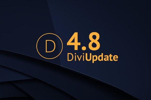 Divi Update 4.8