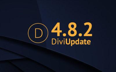 Divi Update 4.8.2