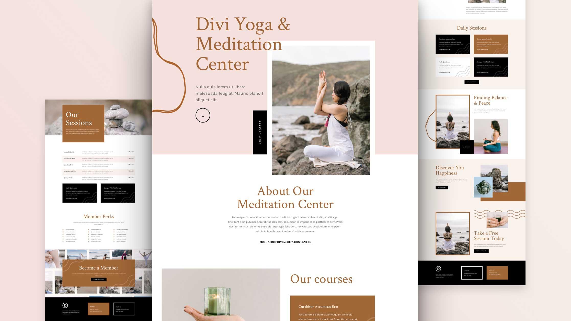 meditationszentrum-divi-kostenloses-layout-pack