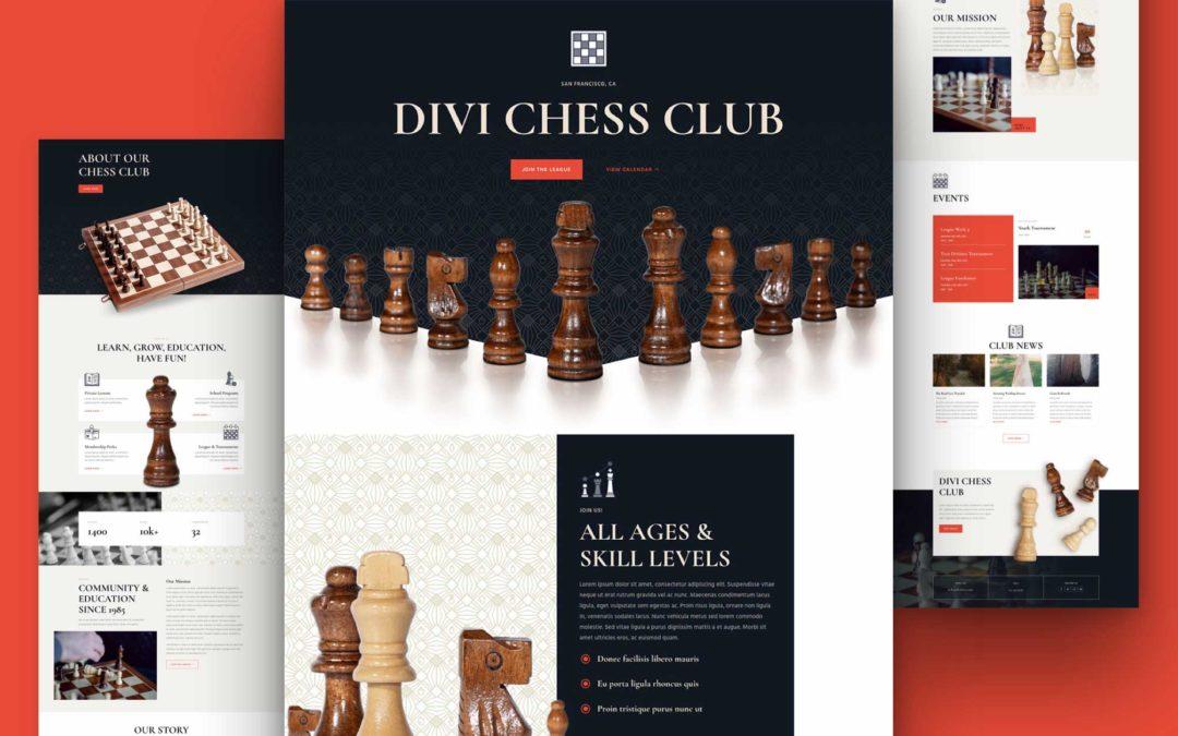 Kostenloses Layout Pack für Schachclubs
