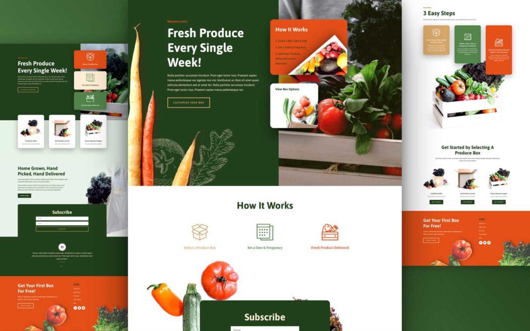 Kostenloses Layout Pack für Obst- und Gemüsekisten