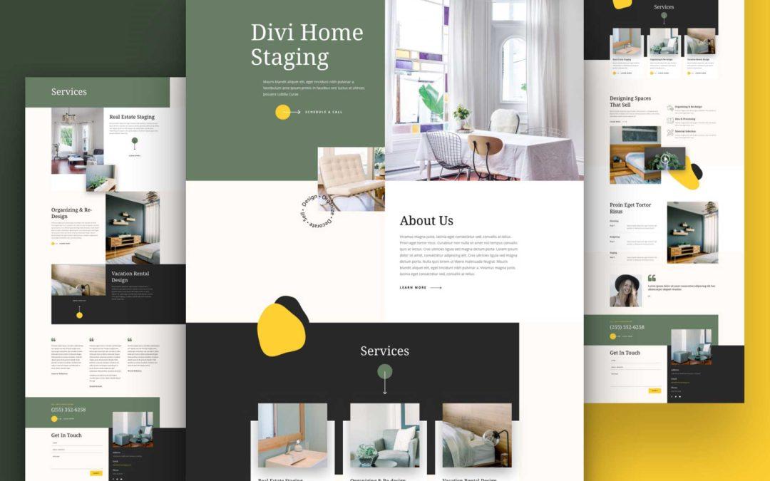 Kostenloses Layout Pack für Home Staging Firmen